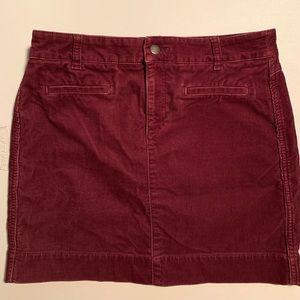 Used Size 6 Ann Taylor Corduroy skirt
